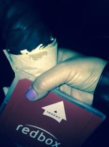redbox and ice cream